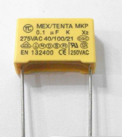 安规电容X电容