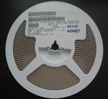 KEMET 3528 10V 贴片钽电容